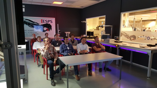 Workshop Bosch Rexroth in het Robotics Experience Center