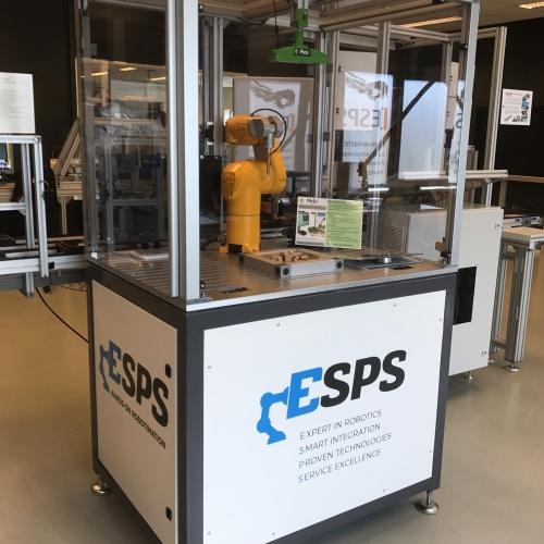 ESPS Demo Cell met Pick-It and Stäubli TX 40